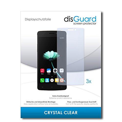 disGuard® Bildschirmschutzfolie [Crystal Clear] kompatibel mit Cubot X12 [3 Stück] Kristallklar, Transparent, Unsichtbar, Extrem Kratzfest, Anti-Fingerabdruck - Panzerglas Folie, Schutzfolie