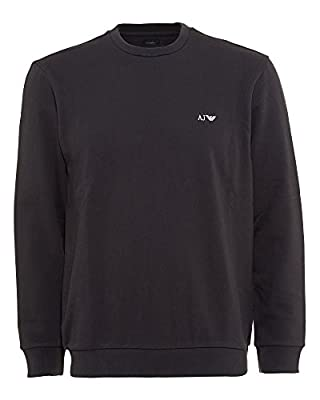 Armani Jeans Navy Blue Basic Comfort Fit Sweatshirt
