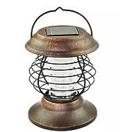 Lampe anti-moustique à double usage extérieure, éclairage portable solaire, lumières insecticides LED, camping intérieur et extérieur