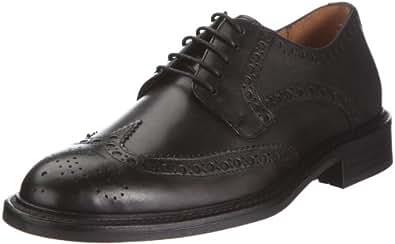GANT Pittsfield Leather 45.42003A001, Herren Klassischer Schnürer, Schwarz (black), EU 41 (UK 7)