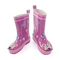 Kidorable Butterfly Welly Boots - Size 6 by Kidorable