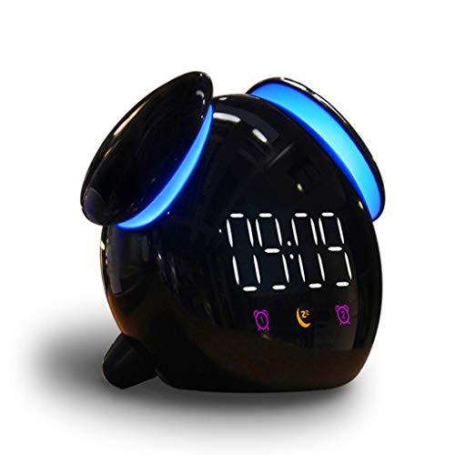 GuDoQi Despertador Digital Infantil con Luz y Función Snooze, Reloj de Cabecera con Alarmas Duales...