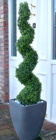 Best Artificial (TM) 120cm 4ft Buchsbaum Spirale Baum * * UV-Verblassen geschützt * *