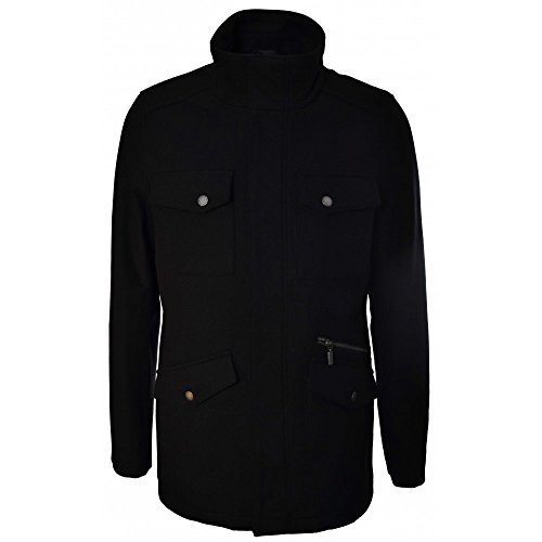 Lindbergh Mens Wool Jacket Black