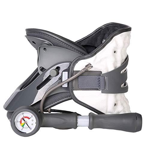DONGBALA Aparato Cervical portátil, Dispositivo de tracción del Cuello Cuello Cervical Ajustable Cuello inmovilizador Dolor de Cuello Aparatos ortopédicos