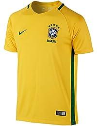 Nike Confederación Brasileña de Fútbol 2015 2016 - Camiseta ... daa0c08a3de4d