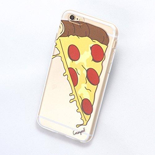 Pizza Slice klar, TPU Telefon Schutzhülle für iPhone 6/6S, iPhone 6Plus/6S Plus, iPhone 5/5S, iPhone 5C (iPhone 6Plus/6S Plus)