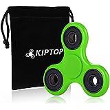 KIPTOP Hand Spinner Kupfer / Aluminium EDC Finger Spielzeug Als Geschenke Spinner Spielzeug für Kinder