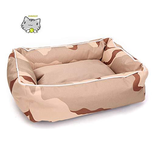 XIANNVA Camas para Mascotas con sofás para Perros con Fondo Impermeable para...