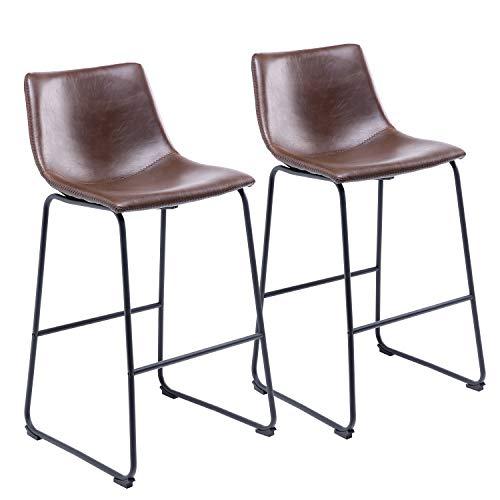 ▶Marca: RFIVER▶ESPECIFICACIONESDimensión de cada silla: 470x 547x 990mmEl peso máximo de carga: 150 kgPaqueteincluido:silla x 2instrucciones de montaje x 1▶Estas sillas de comedor son ideales para el uso de oficina, hogar, comedor, dormitorio, pasil...