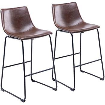 de de Lot 2 Bar Vintage Chaise de UNHO Industriel Tabouret Y2I9HWED