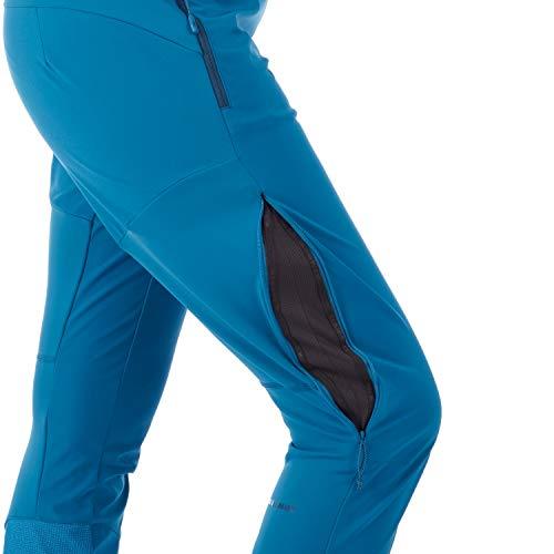 Mammut Damen Botnica Softshell Skitouren-Hose, Sapphire, EU 38