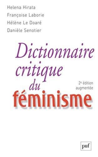 Dictionnaire critique du féminisme par Héléna Hirata