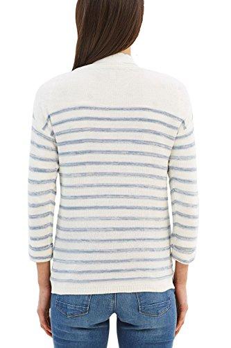 Esprit, Pull Femme Multicolore (Grey Blue)