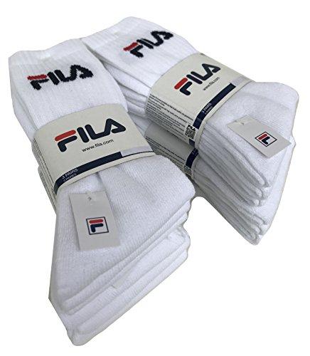 FILA.. - Calcetines de deporte - para hombre 6 paia bianco 39-42