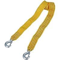 SODIAL(R) Cable Cuerda de remolque para Coche 3000KG 3m con Ganchos Hebilla