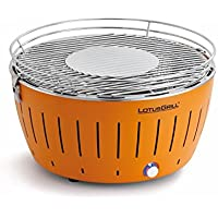 LotusGrill G-OR-34 - Barbacoa de carbón sin humo, color naranja