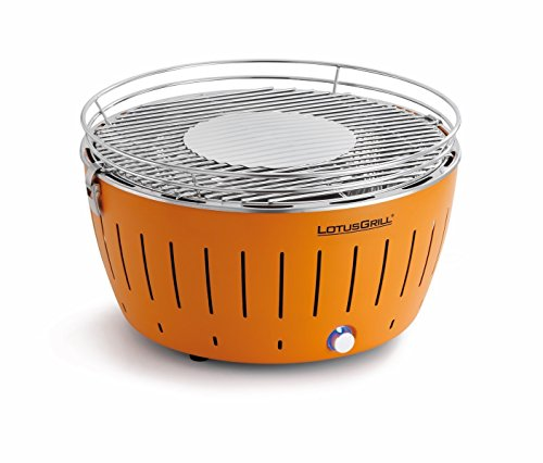 Lotusgrill lg g34 or barbecue da tavolo ca carbonella, arancione, 35 x 26 x 23.4 cm