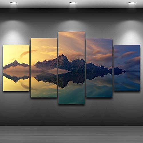 Leinwandbild-Set Wandbilder XXL