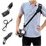 SUPRBRID Camera Strap Shoulder Neck Anti-Slip Quick Rapid Sling Belt with 3 PCS