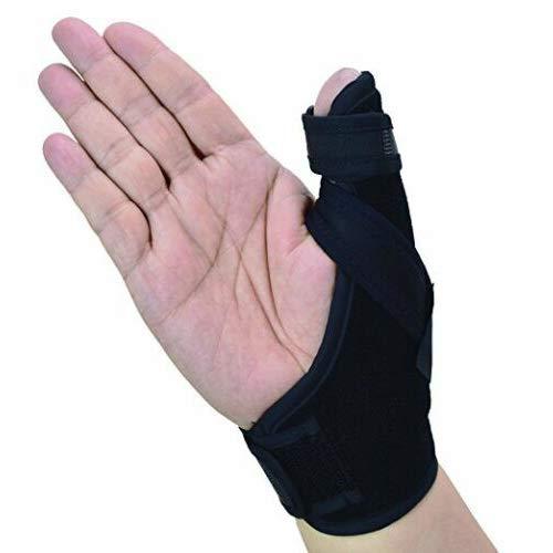 Thumb Spica Splint- Thumb Brace per artrite o lesioni ai tessuti molli, leggero e traspirante, stabilizzante e non restrittivo, prodotto solido statunitense (piccolo/medio)