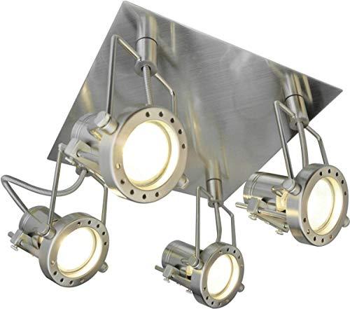 Strahler Spot Jet Line 4 flammig Fassung GU10 Spotlampe Deckenleuchte Spotleuchte -
