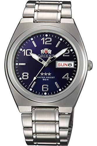 Orient Orologio Analogico Automatico Uomo Unisex con Cinturino in Acciaio Inox SAB08002D8