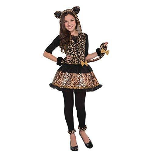 'Sassy Spots' Leopard Kinder Kostüm - 12 bis 14 ()