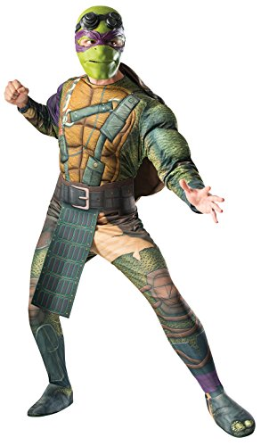 Donatello Tortugas Ninja-Kostüm für Erwachsene Film