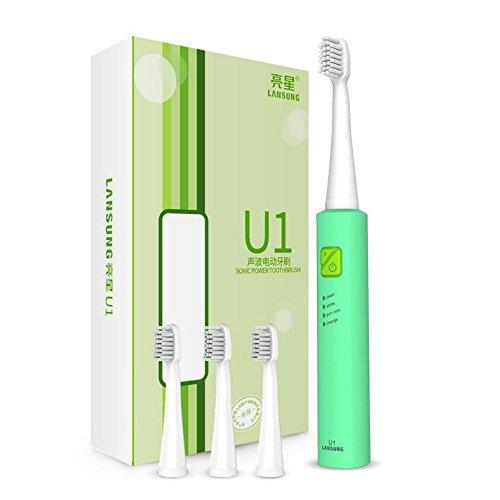 Bluelover Lansung U1 USB Sonic Dents Propre Blanchiment Smart Brosse À Dents Électriques Oral Gum Soins Rechargeables - #01