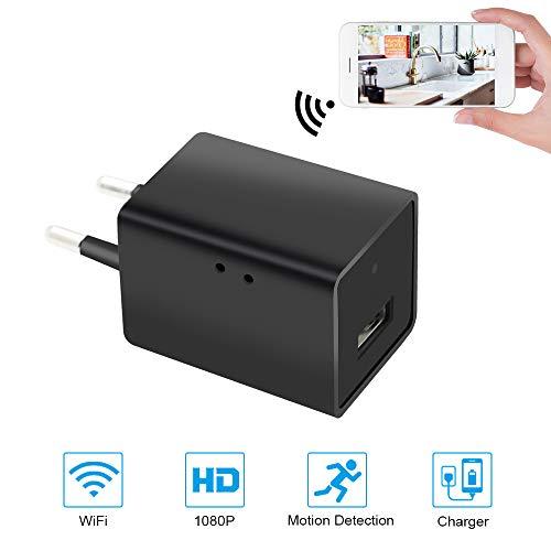 Mini Cámara Espía UYIKOO WiFi Cámara Oculta 1080P