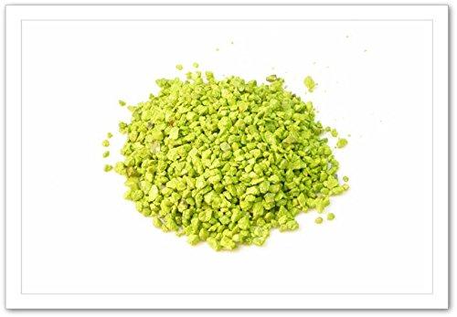 Grain coloré vert grany 3/5 en sac de 1kg