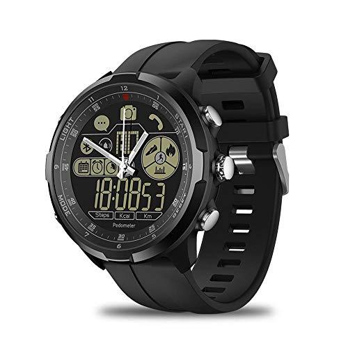 LayOPO Zeblaze Vibe 4 HYBRID Smartwatch 3D-Schrittzähleruhr, Kalorienverbrauchsanzeige, BT V4.0, 290-mAh-Batterie, Wecker, Stoppuhr, Fernkamera, Anruferinnerung
