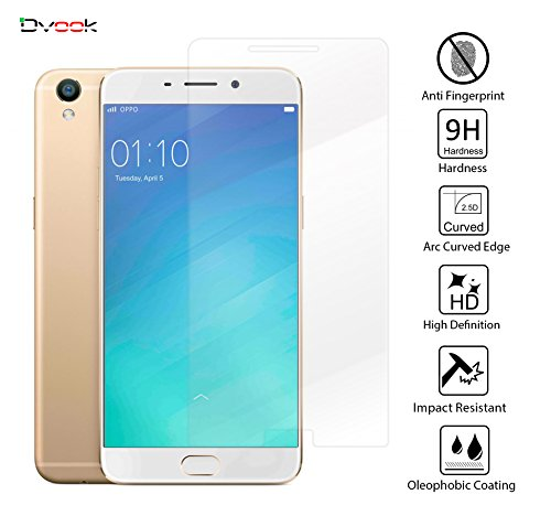 Dvook Premium Pro+ 0.3mm 2.5D 9H Hardness Anti Explosion Tempered Glass Guard Phone Screen Protector For Oppo F1+ Plus