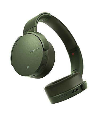Sony MDR-XB950N1 kabelloser Kopfhörer mit Geräuschminimierung (Noise Cancelling, Extrabass, NFC, Bluetooth, faltbar) grün - 3