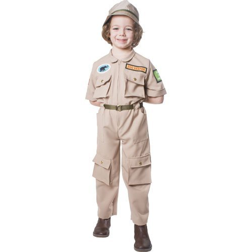 Keeper Costume Set (M) by Dress Up America (Zoo Keeper-kostüm Für Kinder)