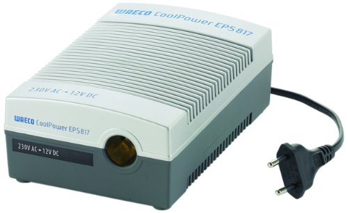 Preisvergleich Produktbild WAECO COOLPOWER EPS 817  -  Netzadapter für Anschluss von 12 Volt Kühlboxen (PKW) an das Festnetz (230 Volt), Wechselrichter, Spannungwandler, 230 Volt - 12 Volt