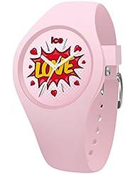 Ice-Watch - ICE love Splash - Orologio rosa da Bambine con Cinturino in silicone - 015268 (Small)