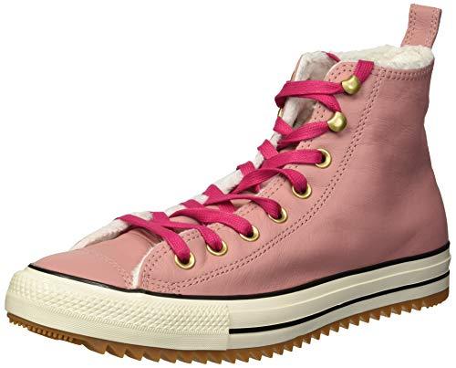 Converse Unisex-Erwachsene Chuck Taylor All Star Hiker Boot Hohe Sneaker, Pink (Rosa/Weiß Rosa/Weiß), 40 EU -