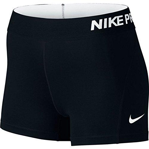 """Nike Damen Pro 3"""" Cool Shorts, Schwarz (schwarz/weiß), S"""