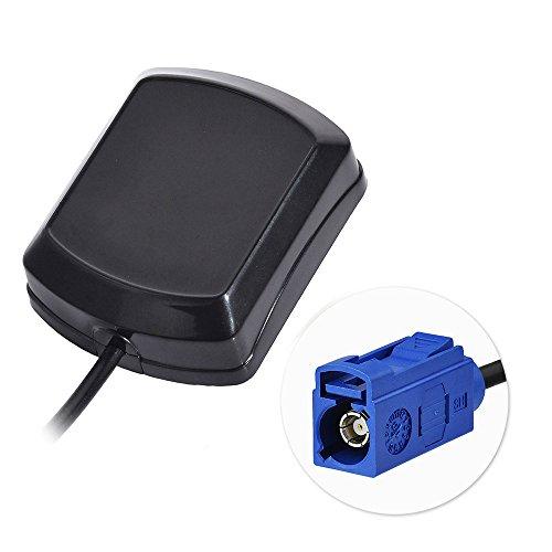 Bingfu GPS Antenne Fakra C Stecker Adapter mit 3m 9.84ft Verlängerungskabel Aktiv Externer Antennenanschluss Kompatibel mit GPS Modul Tracking Antenne GPS Navigation Becker MEHRWEG Navigation Modul