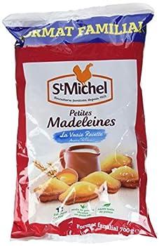 ST MICHEL Madeleines aux ¼ufs 700 g - Lot de 3