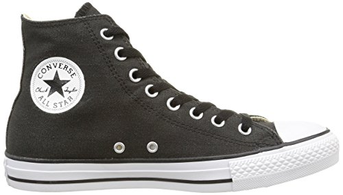 Converse CT Coat Wash Hi, Unisex - Erwachsene Hohe Sneakers Schwarz (Noir)