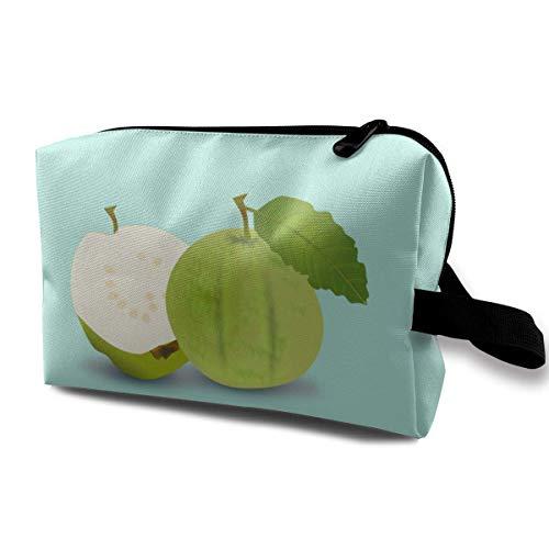 Grüne Guaven Reisen Make-up Taschen Kosmetiktasche Reißverschluss