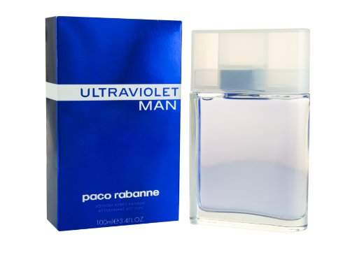 Paco Rabanne Ultraviolet Man 100ml Aftershave Lotion für Ihn, 1er Pack (1 x 100 ml) (Spice Clean Men)