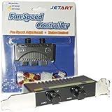 JetArt V-DT4100 Régulateur de vitesse pour 2 Ventilateurs DT4100