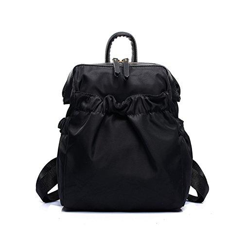 Damen schultertaschen,canvas-tasche,reisetasche-schwarz schwarz