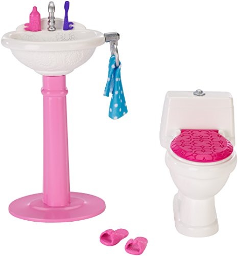 Barbie Dream Bathroom Playset 0887961356113