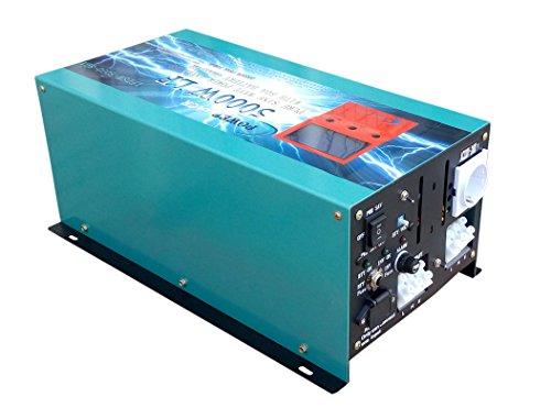 ATS 5000W Convertisseur pur sinus onduleur 12V à 220V onde sinusoïdale pure power inverter /UPS/Chargeur de batterie 80A prêt à acheter