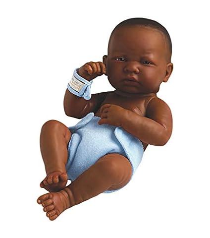 Berenguer - Bébé noir garçon 'newborn' -